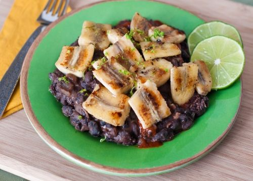 54 best exotic food recipes images on pinterest exotic food food easy caribbean black beans plantains recipe forumfinder Gallery