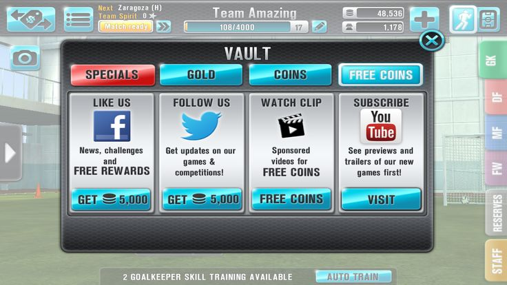 Don't forget, you can earn FREE COINS in Football Kicks Title Race by visiting the vault! fnky.link/fktr   #football #kicks #titlerace #app #mobile #video #games #ios #android #google #play #appstore #apple #free #win
