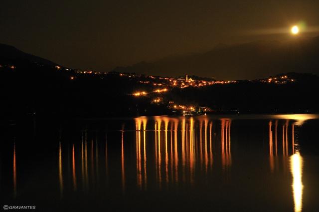 Red Lights on Caldonazzo Lake
