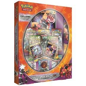They came from Ultra Sapce! The Ultra Beasts, strange creatures from another dimension, have come to the Alola region as power Pokemon-GX! This collection brings these creatures directly to you, with special promo cards of two Ultra Beasts and a playmat featuring these new Pokemon. A premium collection showcasing these otherwordly Pokemon has slipped through the Ultra Wormhole...catch it while you can!