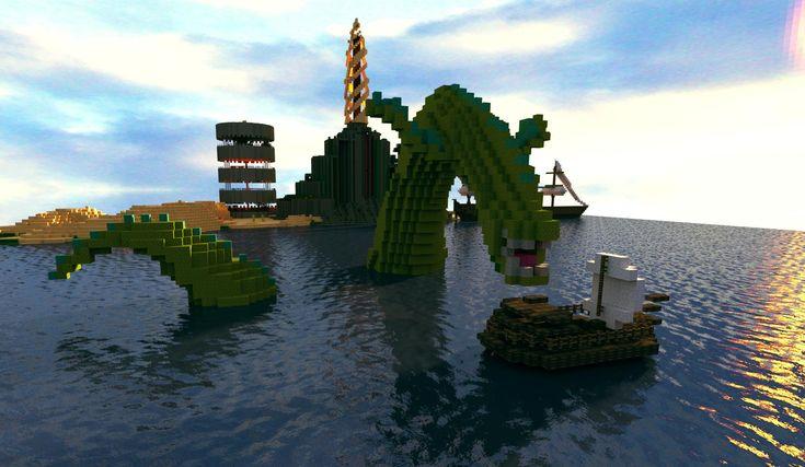 minecraft monster | minecraft | Minecraft statues ...