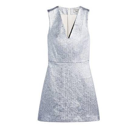 Robe de mariage civil bleue Maison Kitsune