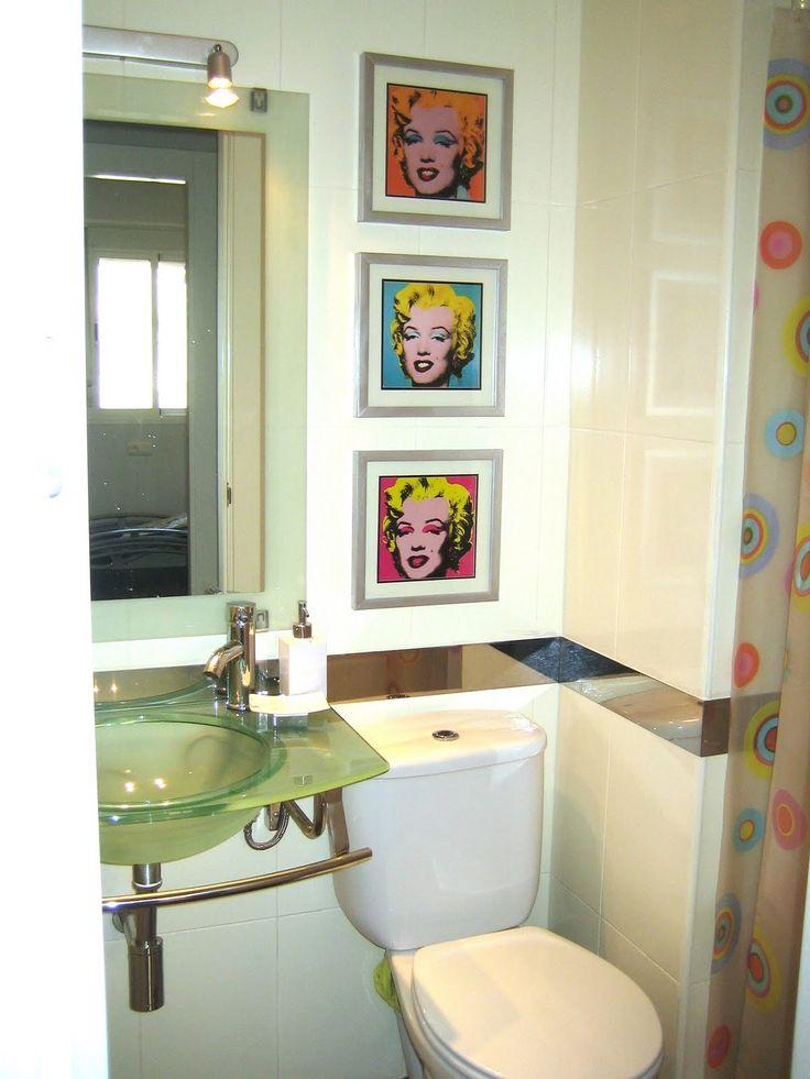 M s de 1000 ideas sobre pintar azulejos del ba o en - Banos pintados sin azulejos ...