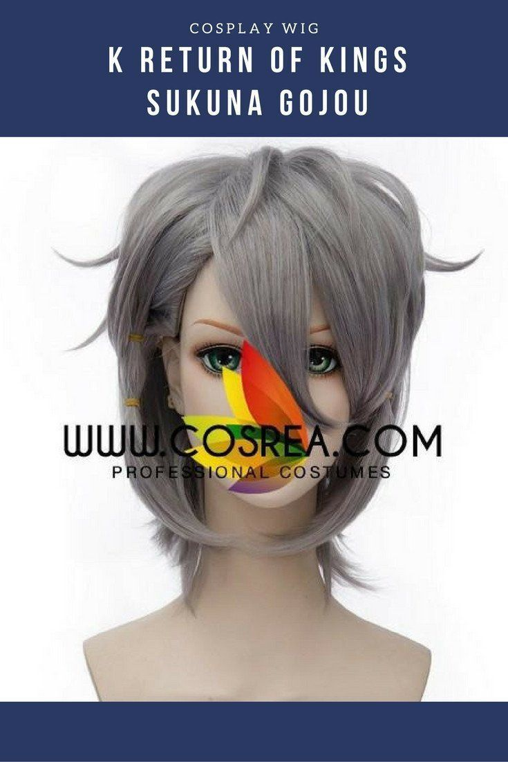 K Return of Kings Sukuna Gojou Cosplay Wig