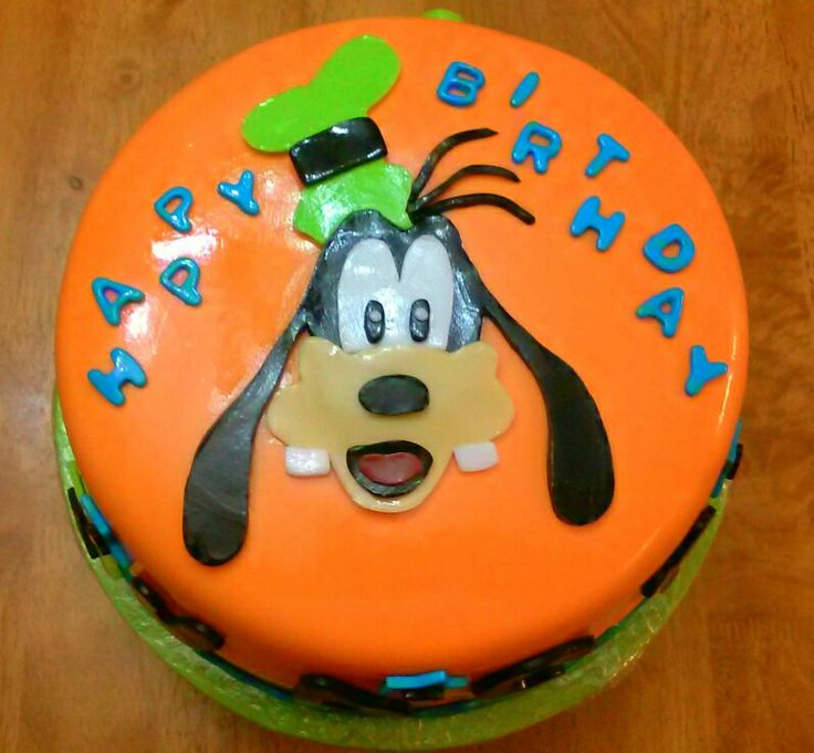 Goofy Cake made by my sister inlaw