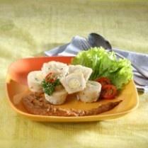 SIOMAY IKAN TELUR PUYUH http://www.sajiansedap.com/mobile/detail/12482/siomay-ikan-telur-puyuh