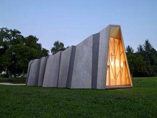 Confira lista com 10 construções que unem origami e arquitetura - ARCOweb