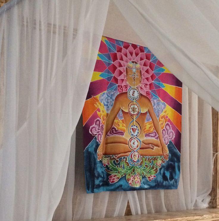 Un favorito personal de mi tienda Etsy https://www.etsy.com/listing/398123979/chakras-meditation-hand-painted-100