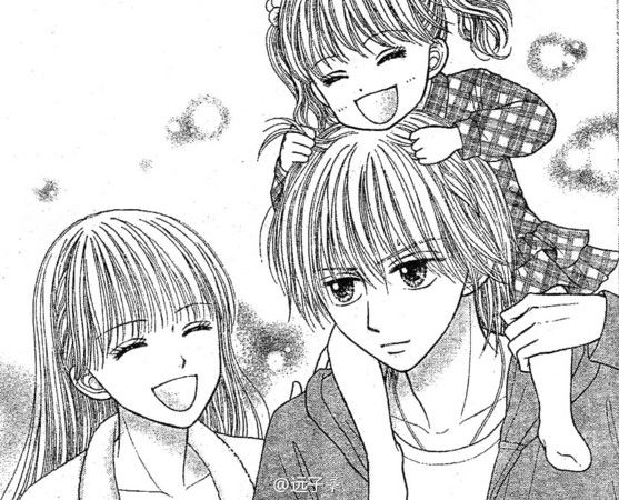 Sana,Akito and their daughter - Kodomo no Omocha/Deep clear