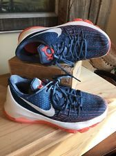 Nike KD 8 VIII GS Youth Basketball Shoes Boys Girls Sz 5.5 Youth Navy Blue $140