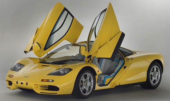 An incredibly rare 1996 McLaren F1 supercar has been revealed still in its protective packing and will go on sale at auction... #supercar #McLaren #auction #classiccar #lovecars