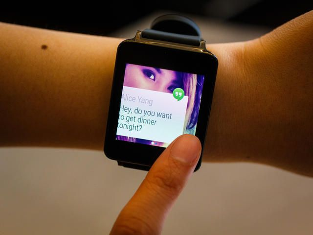 Wearing the #LG #GWatch (pictures) - #AndroidWear #SmartWatch #GoogleIO