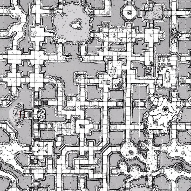 Inked Adventures Inked Adventures  Mock-up of large map using Inked Adventures and Drawn Geomorph Tiles Art by Billiam Babble of Inked Adventures 2012