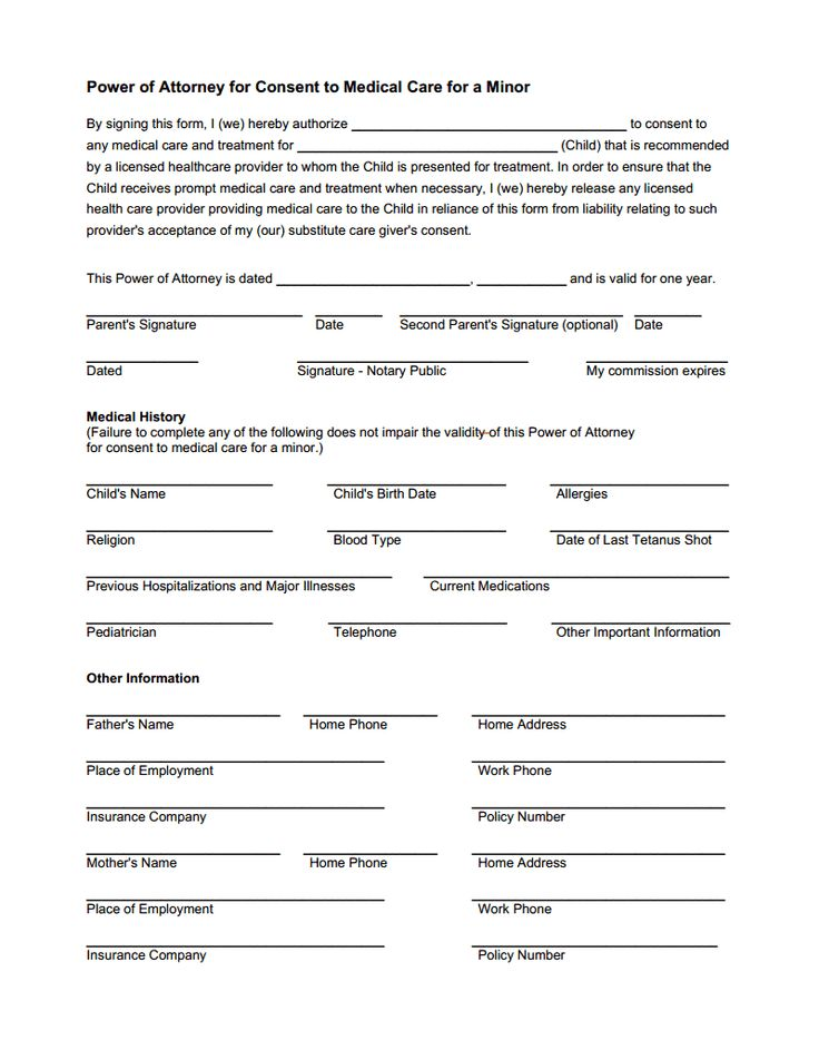 Consent to treat form for minors.pdf DIY Home invasion