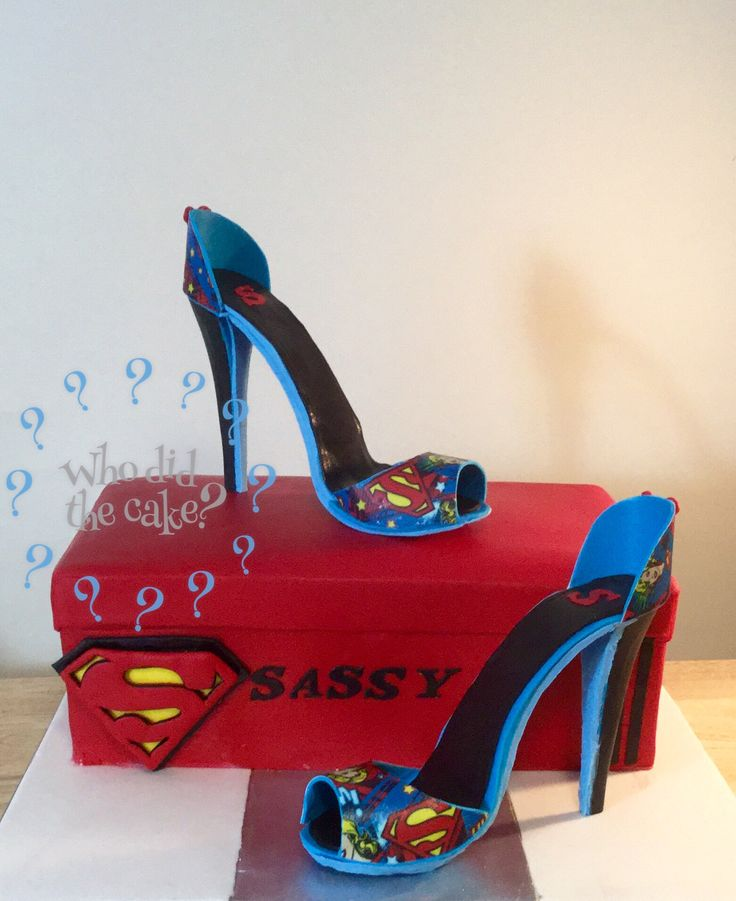 Sugar shoes superhero
