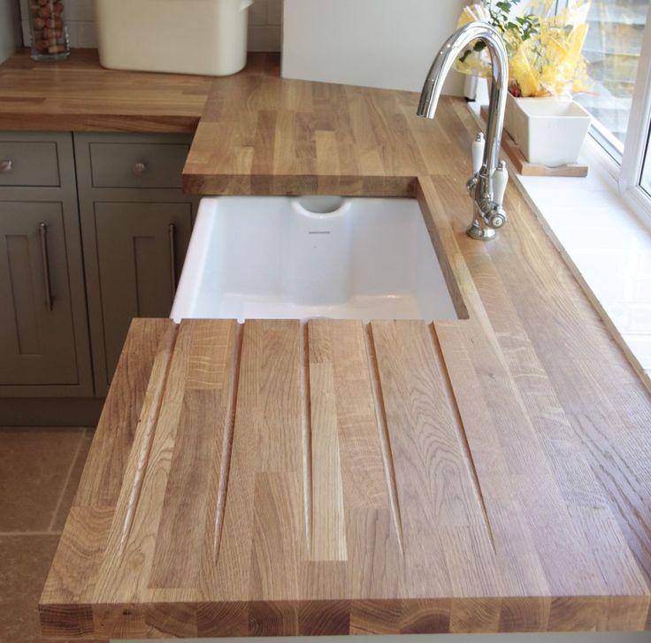 Kitchen Worktops And Flooring: 17 Best Ideas About Oak Wood Worktops On Pinterest
