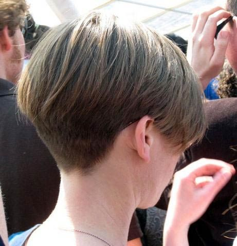 Tapered Neckline Bob Haircuts For 2015