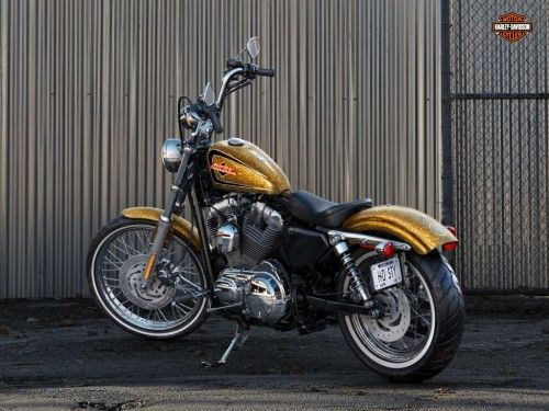 Harley Davidson Forty Eight Hd Wallpaper Harley Davidson 72 Sportster In Gold Flake One Of The