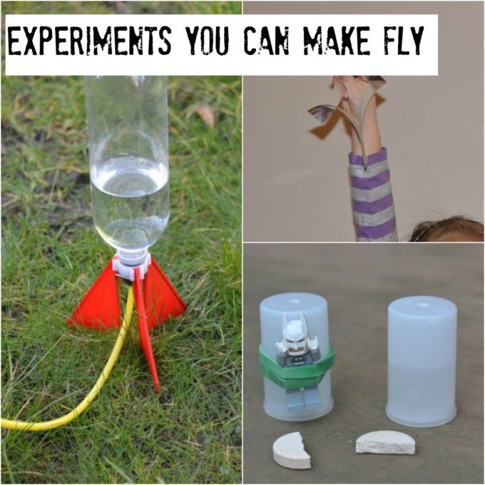 Great experiments you can make fly.