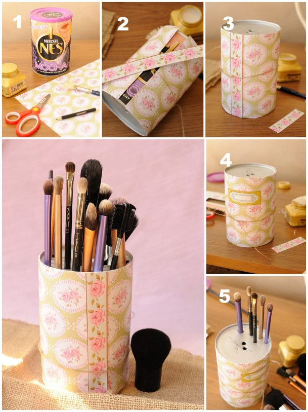 Pinterest the world s catalog of ideas - Rangement maquillage fait maison ...