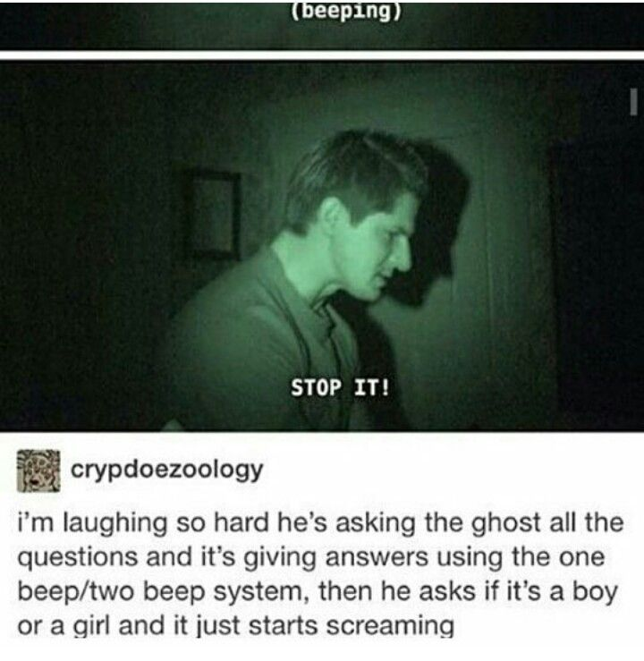 """""""He asks if it is a boy or girl and it starts screaming""""  Same. Genderfluidity in a sentence"""