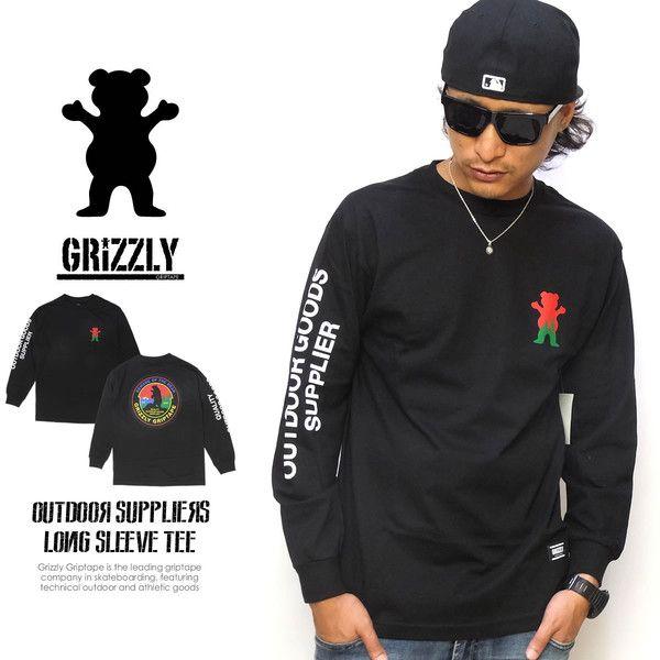 GRIZZLY GRIPTAPE グリズリーグリップテープ ロンT メンズ 長袖Tシャツ ロングTシャツ 2015 秋冬 新作LAの人気スケートボードブランドDiamond Supply Co.(ダイヤモンドサプライ)の姉妹ブランドとして発足したトップライダーのトーリー・パドウィルが手掛ける注目ブランドGrizzly Griptape(グリズリー・グリップテープ)のロンTEE。アウトドアをテーマにしたグリズリーロゴと袖のメッセージプリントがインパクトを放つ一枚。裾にはブランドラベルがアクセントにオン。【ブランド名】Grizzly Griptape(グリズリーグリップテープ)【スタイル名】OUTDOOR SUPPLIERS LONG SLEEVE TEE【メーカー品番】C15GPC01【素材】コットン100%