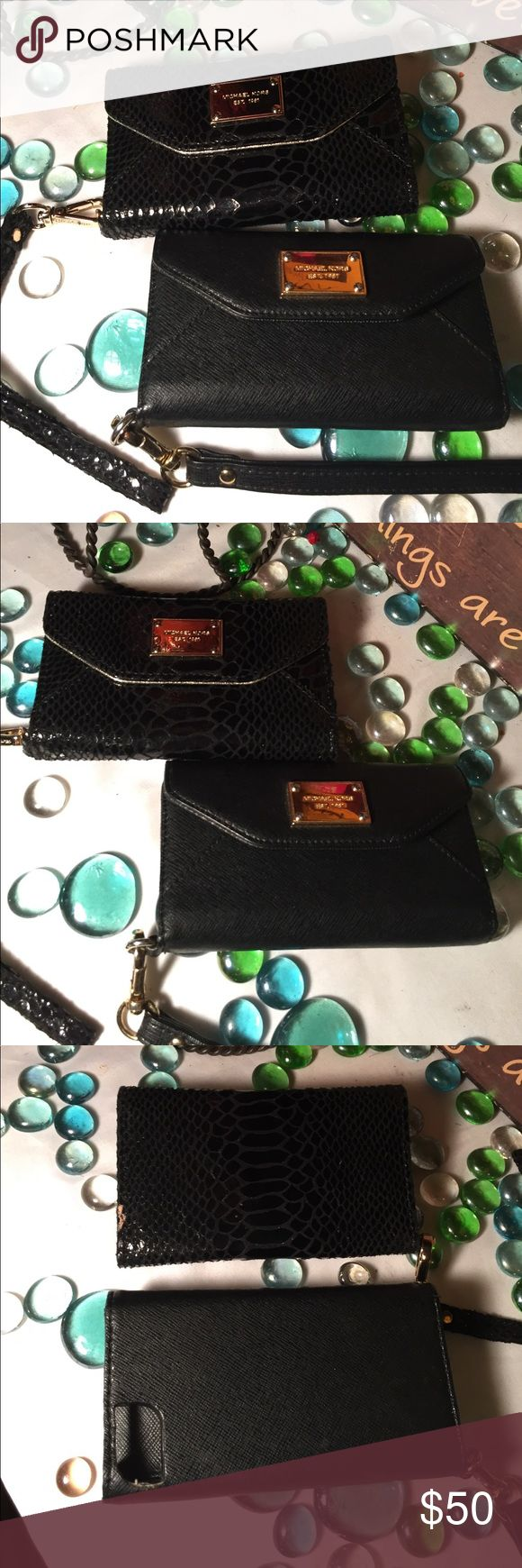 2 MICHAEL KORS iPhone 4 Cases 2 MICHAEL Kors Cases Bundle deal!Good condition- View all pics. Very nice! MICHAEL Michael Kors Accessories Phone Cases