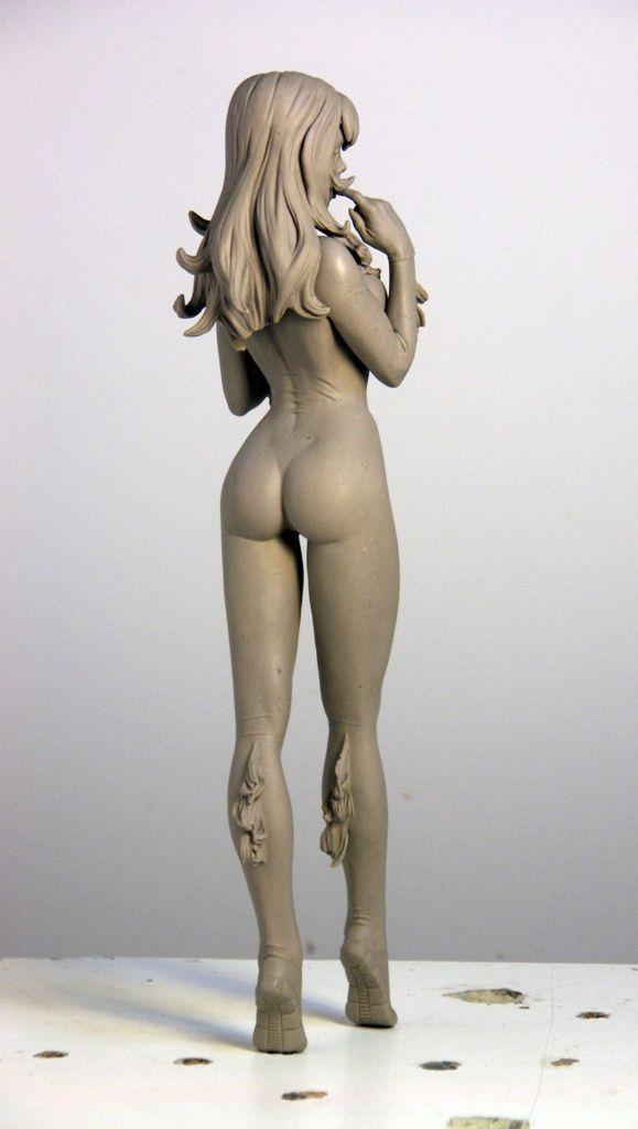 Black Cat 5 by *TKMillerSculpt on deviantART