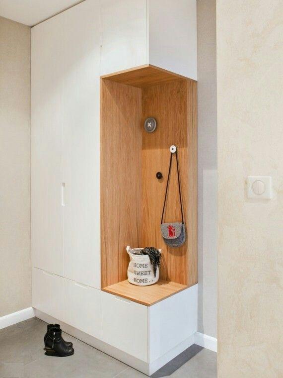 Super Solution For Little Space In The Hallway Super Losung Fur Eine Enge G Eine Enge Fur Hal Wohnungseinrichtung Ikea 1 Zimmer Wohnung Ikea Design