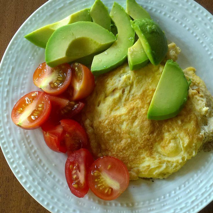 #breakfast #omelette #avocado #tomato #foodcoaching #easypeasy