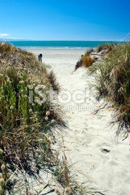 Beach Scene, Summer Royalty Free Stock Photo