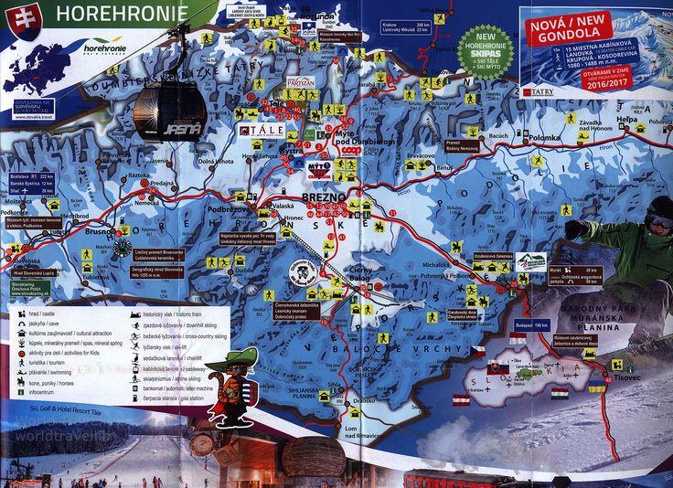 https://flic.kr/p/UNuf2e | Region Horehronie Slovakia Mapa / Map, Zima / Winter 2016-2017_2, Tatry