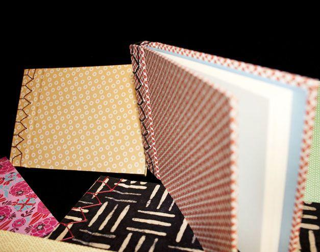 NOTEBOOK de IRUI. Libretas  de distintos tamaños encuadernadas a mano al estilo japones.