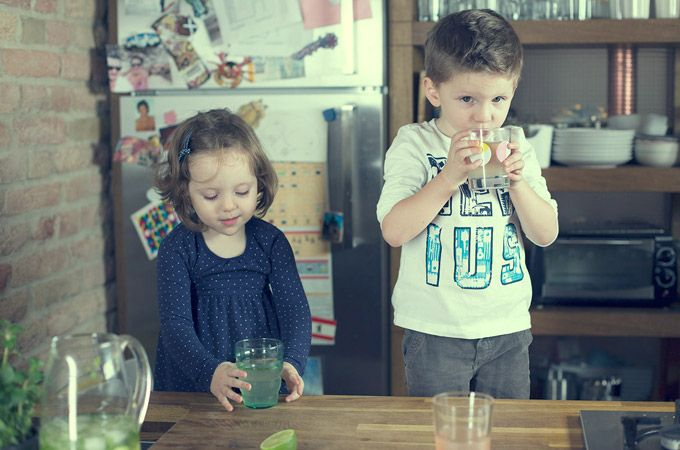 Najlepším nápojom je čistá voda