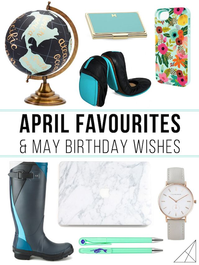 April Favourites & May Birthday Wishes - The White Corner CreativeThe White Corner Creative