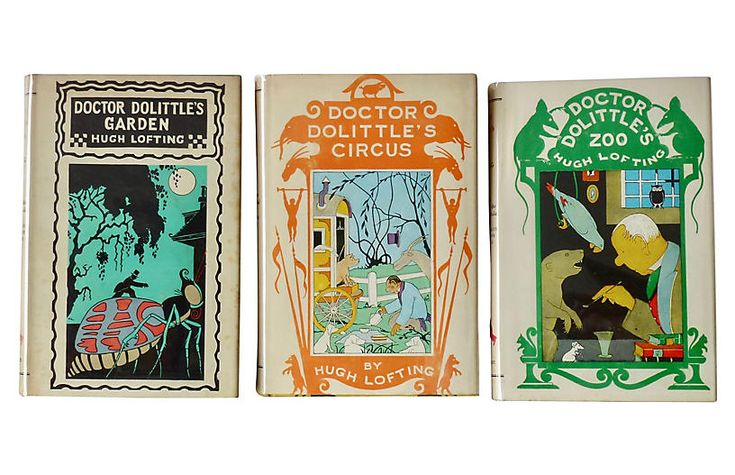 Three Dr. Dolittle Classics, 1950s $85.00