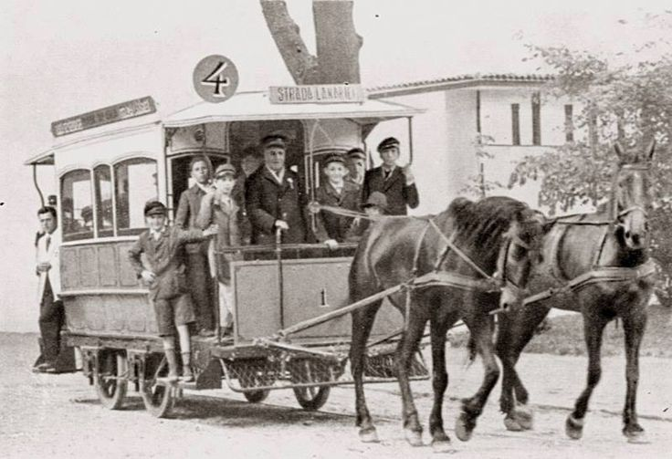Did you know that the first horsecars in Bucharest were introduced, in 1871, by a company with British and Belgian capital? I can only imagine how must have been like to go for a ride with those yellow horse-drawn cars smile emoticon  From #Bucharest, with love!