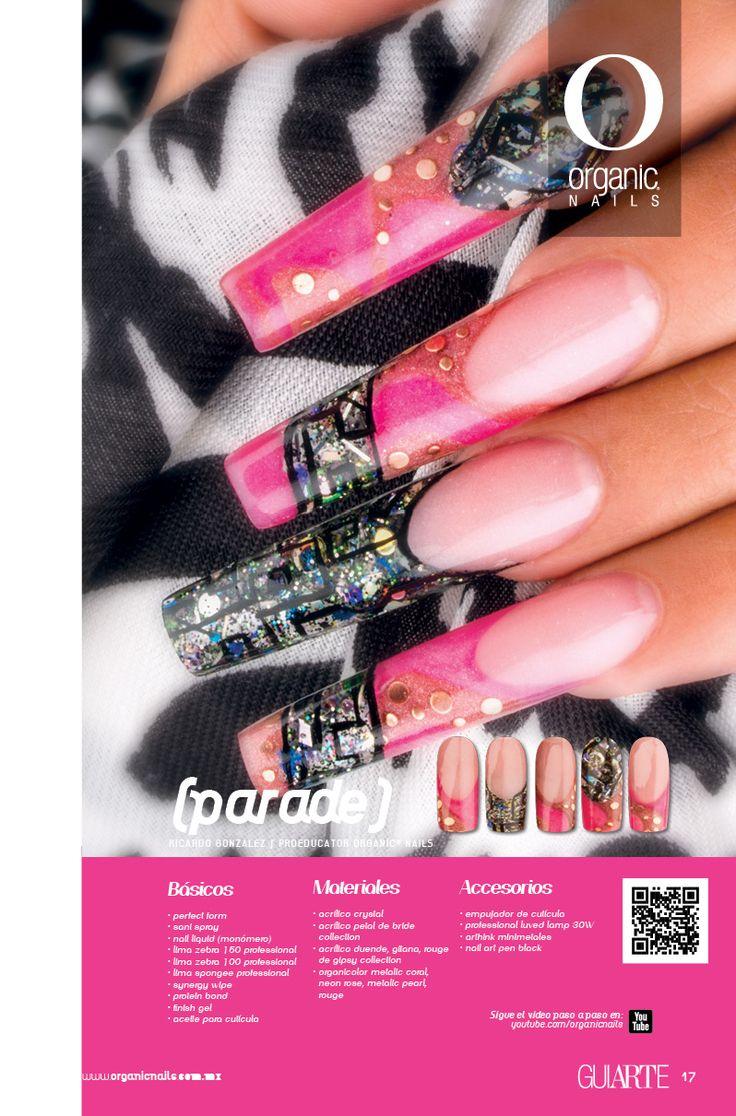 PARADE   Ricardo González / Proeducator Organic® Nails Diseño publicado en la revista Lo Mejor No. 25 de Organic® Nails.   http://youtu.be/HjJfi2h-gLQ?list=PLVzihPafxEEyTe9DvLCfizactj-BZKHwd
