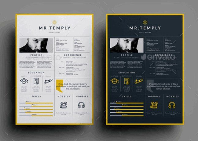 Resume Adam by sz81 on Envato Elements when you want to present - creative resume template free