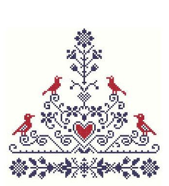 Tree of Life - Cross Stitch Pattern PDF. $7.00, via Etsy.