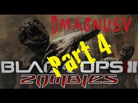 Black Ops 2 Zombies - Fun With @DarvinTV & Turbo Part 4