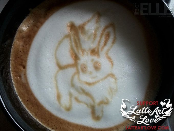 Latte Art - Eevee