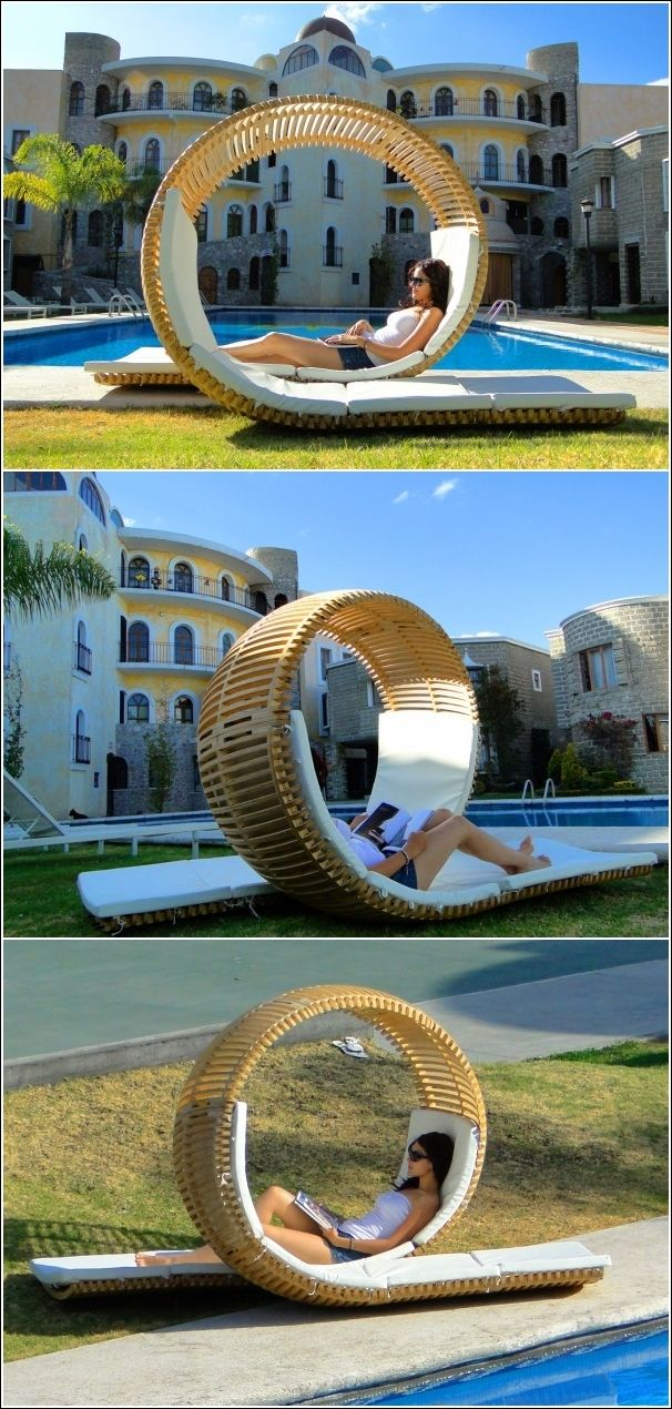 A Curved Lounger