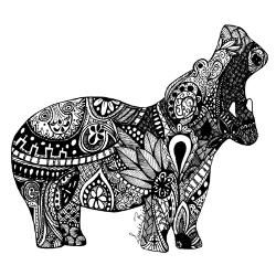 hippo_zentangle_laptop_skins.jpg (250×250)