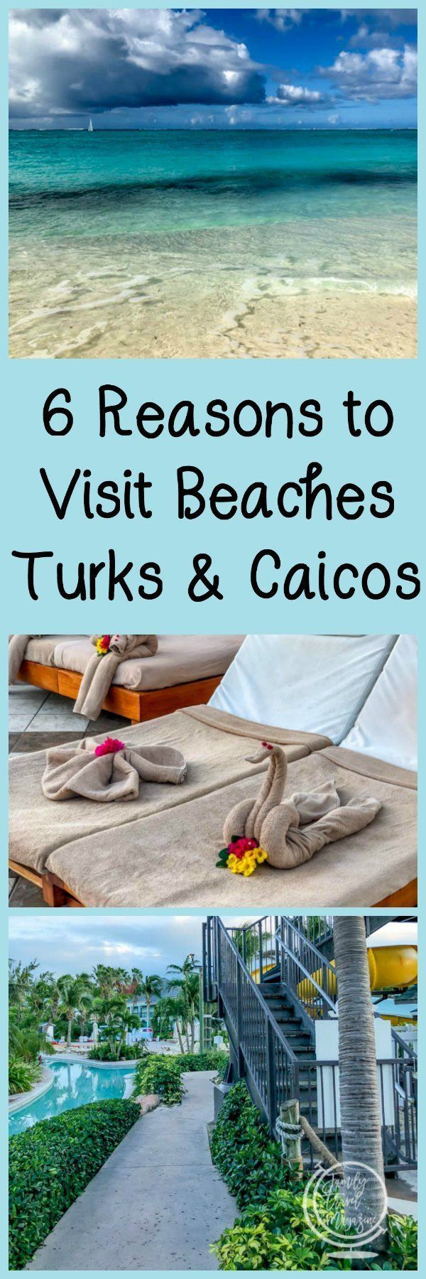 6 Reasons to Visit Beaches Turks and Caicos Resort, including beautiful beaches, delicious food, and fabulous service. #ad #familytravel #caribbean #beaches #turksandcaicos #beach