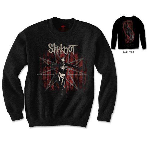 Slipknot Men's Sweatshirt: The Grey Chapter Wholesale Ref:SKSWT12MB
