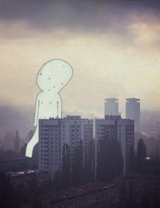 Wunderbare Bilder des schwedischen Künstlers Johan Thörnqvist, der geschickt Fotografien mit Illustrationen vermischt und damit einen unverwechselbaren Stil erschafft: Er kombiniert Realität und Traum und zeichnet imaginäre Gebilde über seine Fotos...