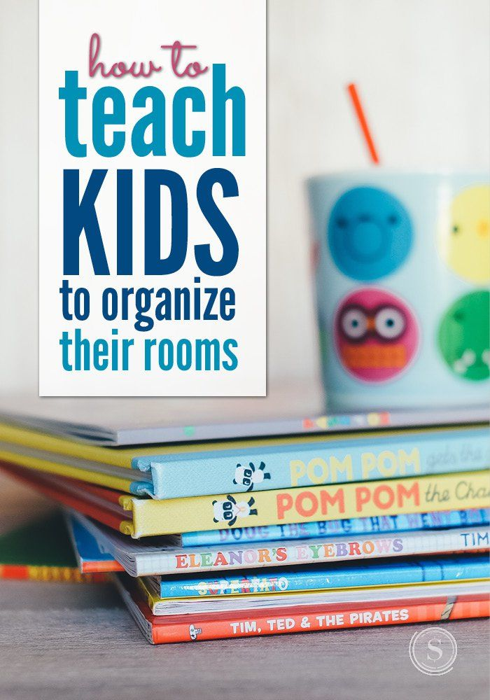 Believe it or not, it is possible to teach your kids to clean their rooms. One of the most important aspects on your part is to be consistent with your teaching and your consequences. Here are some tips to help teach your kids to organize their rooms.