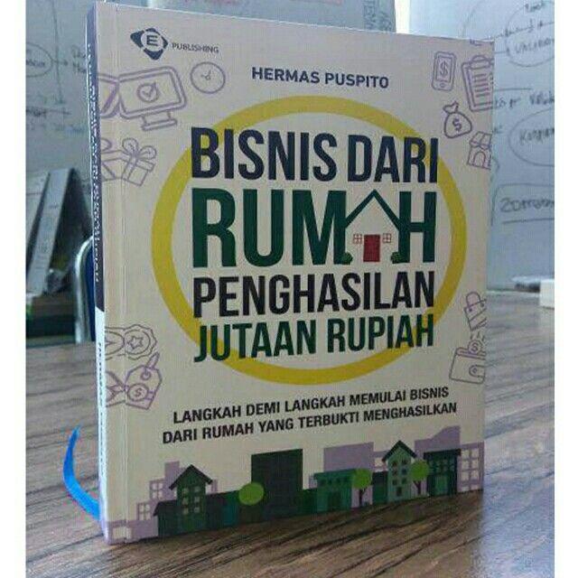 """Saya menjual Buku Bisnis Dari Rumah Penghasilan Jutaan Rupiah -- Penulis Hermas Puspito """" Ednovate """" seharga Rp258.000. Dapatkan produk ini hanya di Shopee! https://shopee.co.id/fardannet/821274742/ #ShopeeID"""