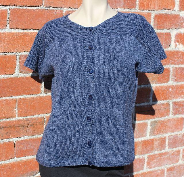 Ladies Knitting Pattern 8ply